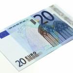 в подарок 20 euro